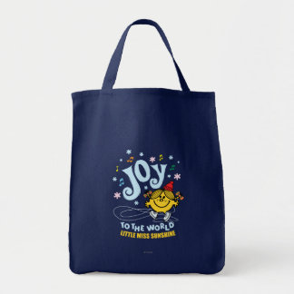 Little Miss Sunshine | Joy To The World Tote Bag