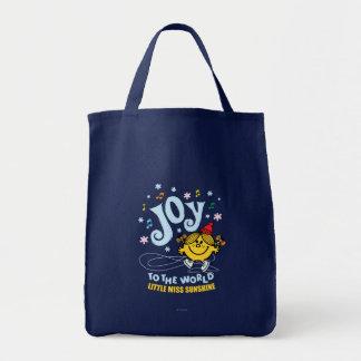 Little Miss Sunshine | Joy To The World Tote Bag