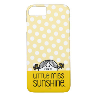 Little Miss Sunshine Peeking Over Name iPhone 8/7 Case