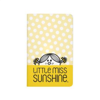 Little Miss Sunshine Peeking Over Name Journal