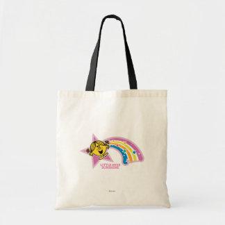 Little Miss Sunshine | Rainbows & Stars Budget Tote Bag