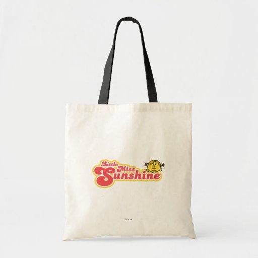 Little Miss Sunshine | Red Bubble Lettering Budget Tote Bag