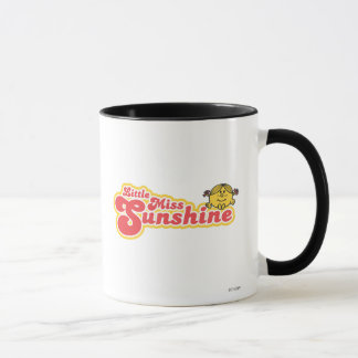 Little Miss Sunshine | Red Bubble Lettering Mug