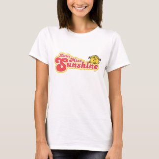 Little Miss Sunshine   Red Bubble Lettering T-Shirt