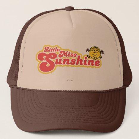 Little Miss Sunshine | Red Bubble Lettering Trucker Hat