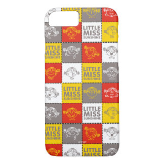 Little Miss Sunshine | Red & Yellow Pattern iPhone 8/7 Case