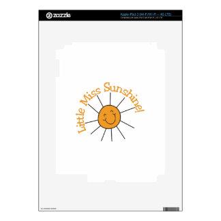 Little Miss Sunshine iPad 3 Decals