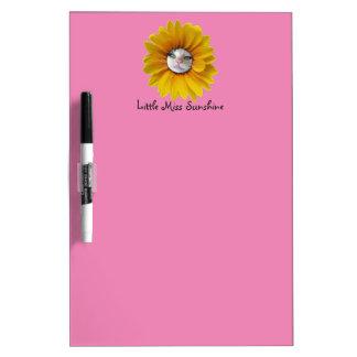 Little Miss Sunshine Smiling Cat Dry-Erase Board