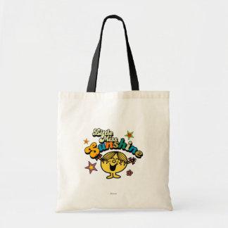 Little Miss Sunshine | Stars & Flowers Budget Tote Bag