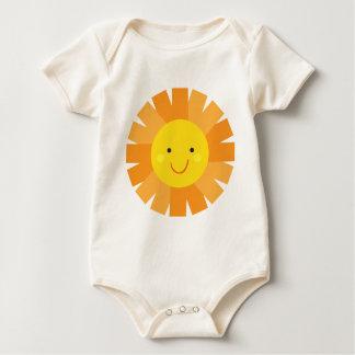 Little Miss Sunshine Sun Invitation Polka Dot Romper