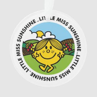 Little Miss Sunshine   Sunshine Circle Ornament