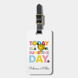 Little Miss Sunshine | Today is a Sunshine Day Bag Tag