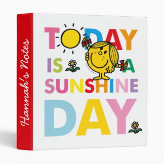 Little Miss Sunshine | Today is a Sunshine Day Binder