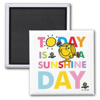Little Miss Sunshine | Today is a Sunshine Day Magnet