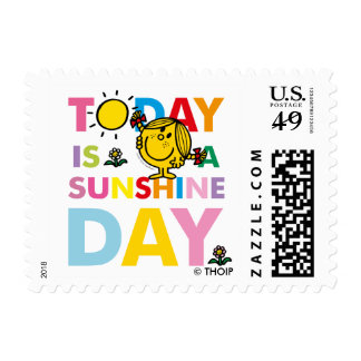 Little Miss Sunshine | Today is a Sunshine Day Postage