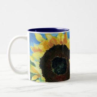 Little Miss Sunshine Two-Tone Coffee Mug