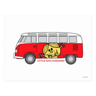 Little Miss Sunshine & Van Postcard