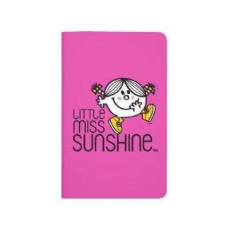 Little Miss Sunshine Walking On Name Graphic Journal