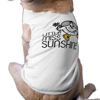 Little Miss Sunshine Walking On Name Graphic T-Shirt