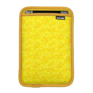 Little Miss Sunshine Yellow And Polka Dot Pattern Sleeve For iPad Mini