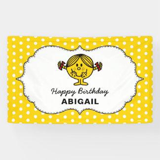 Little Miss Sunshine | Yellow Birthday Banner