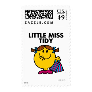 Little Miss Tidy | Black Lettering Stamps