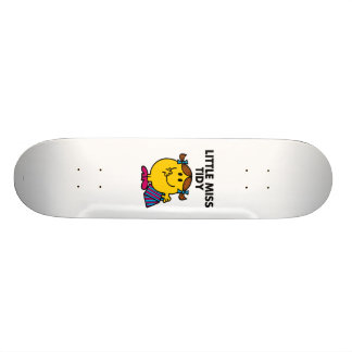 Little Miss Tidy | Black Lettering Skateboard