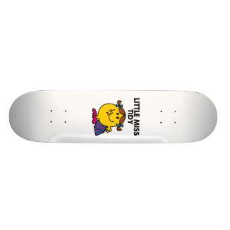 Little Miss Tidy | Black Lettering Skate Board Decks