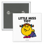 Little Miss Tidy Classic Button