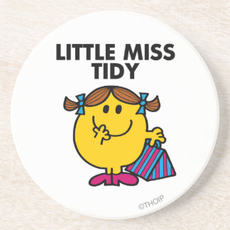 Little Miss Tidy Classic Coasters