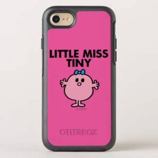 Little Miss Tiny | Black Lettering OtterBox Symmetry iPhone 8/7 Case