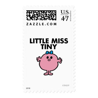Little Miss Tiny | Black Lettering Postage