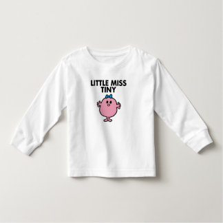 Little Miss Tiny | Black Lettering Toddler T-shirt
