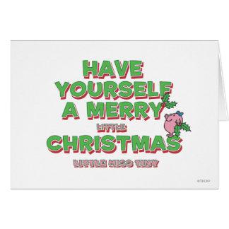 Little Miss Tiny Christmas Card