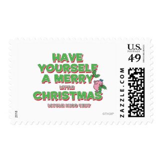 Little Miss Tiny Christmas Postage