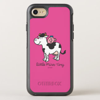 Little Miss Tiny   Cow Riding OtterBox Symmetry iPhone 7 Case