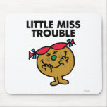 Little Miss Trouble | Laughing Mouse Pad