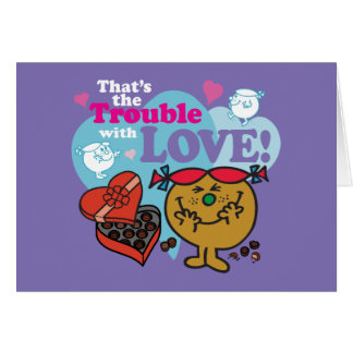 Little Miss Trouble | Valentine Card