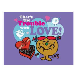 Little Miss Trouble | Valentine Postcard