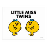 Little Miss Twins Classic Postcard