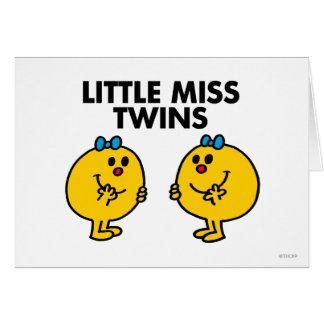 Little Miss Twins | Two Much Fun Card