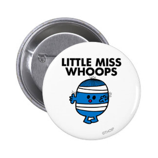 Little Miss Whoops Classic Pinback Buttons