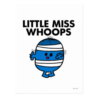 Little Miss Whoops Classic Postcard