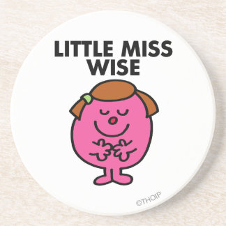 Little Miss Wise Classic Coaster