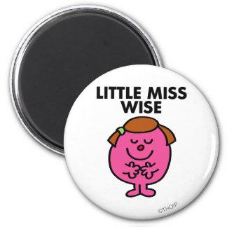 Little Miss Wise Classic Fridge Magnet