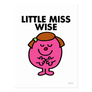 Little Miss Wise Classic Post Cards