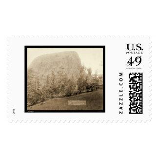 Little Missouri Butte WY 1890 Postage Stamp