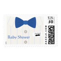 Little Mister Baby Shower Postage