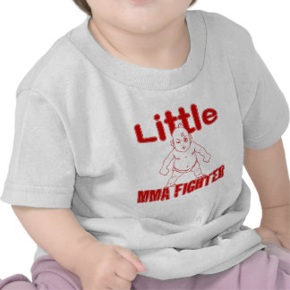 Little MMA Fighter Martial Arts Baby Tee Shirts
