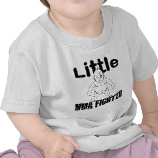 Little MMA Fighter Martial Arts Baby Tshirts